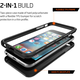 Spigen Thin Hybrid ochranný kryt pro iPhone 6/6s, black