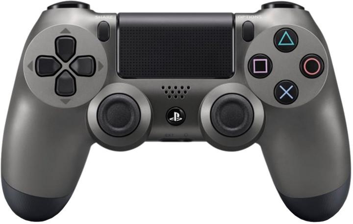 Sony PS4 DualShock 4, kovově černý
