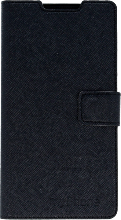 myPhone pouzdro s flipem pro Venum, černá