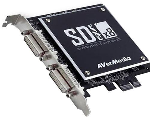 AVerMedia DarkCrystal SD Capture x8 (C968)
