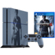 PlayStation 4, 1TB, šedomodrá + Uncharted 4: A Thief's End