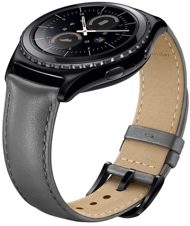 Samsung výměnný pásek ET-SLR73M pro Gear S2, šedá