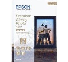 Epson Foto papír Premium Glossy, 13x18 cm, 30 listů, 255g/m2, lesklý - C13S042154