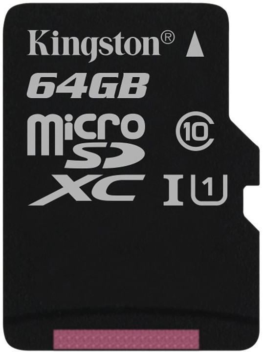Kingston Micro SDXC 64GB Class 10 UHS-I