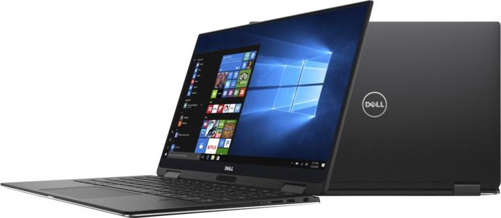 Dell XPS 13 (9365) Touch, černá