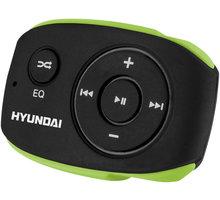 Hyundai MP 312, 4GB, černá/zelená - HYUMP312GB4BG