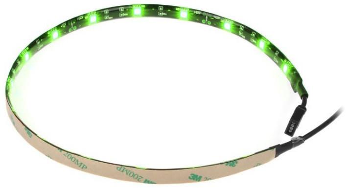 Akasa Vegas M - AK-LD05-50GN, LED pásek, 50 cm, zelená