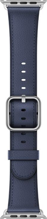 Apple watch náramek 42mm Midnight Blue Classic Buckle
