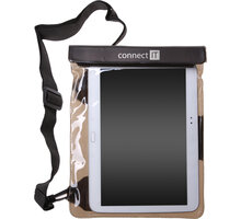 """CONNECT IT TAB7 vodotěsné pouzdro na tablet do 10"""" s audio jack výstupem - CI-656"""