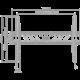 """GoGEN XL držák pevný, pro úhlopříčky 37"""" až 70"""", černá"""