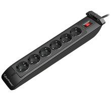 CyberPower Surge Buster, přepěťová ochrana, 6 zásuvky - SB0601BA-FR