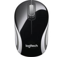 Logitech Wireless Mini Mouse M187, černá - 910-002731