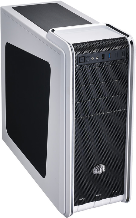 CoolerMaster CM 590 III, bílá