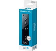 Nintendo Remote Plus, černá (WiiU) - NIUP615