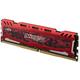 Crucial Ballistix Sport LT Red 64GB (4x16GB) DDR4 2400