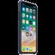 Apple silikonový kryt na iPhone X, půlnočně modrá