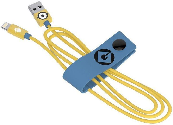 Tribe Minions Carl Lightning kabel (120cm) - Žlutý