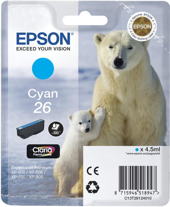 Epson C13T26124010, cyan