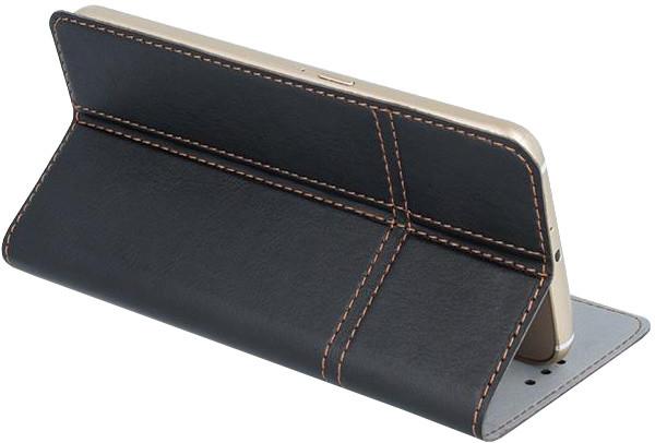 """Forever knížkové pouzdro (smartcase) typ a fold univerzální 5,5-5,7"""" - černé"""
