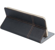 """Forever knížkové pouzdro (smartcase) typ a fold univerzální 5,5-5,7"""" - černé - LCSSMUN-A57BK"""
