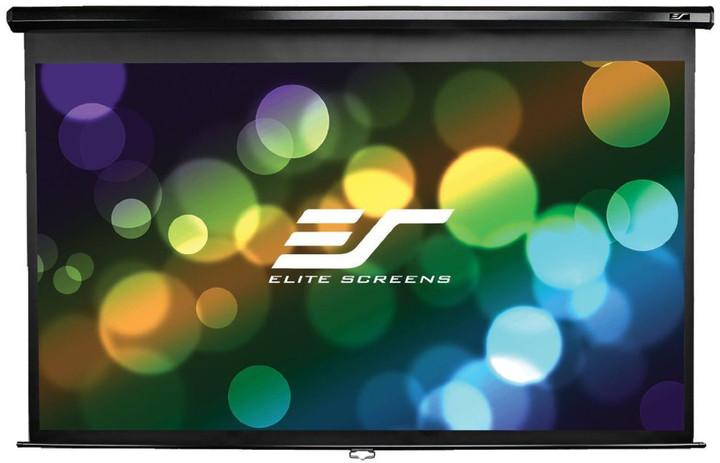 """Elite Screens plátno roleta 150"""" (381 cm)/ 16:9/ 186,7 x 332 cm/ case černý"""