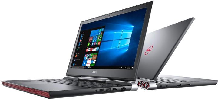 Dell Inspiron 15 Gaming (7567), černá
