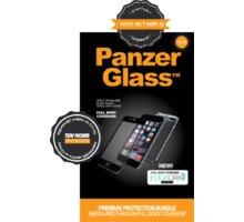 PanzerGlass Premium - Ochrana celého telefonu - pro Apple iPhone 6 - Edge Grip - černá - B1006