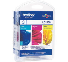 Brother LC-1100 RBWBP, multipack C+M+Y - LC1100RBWBP