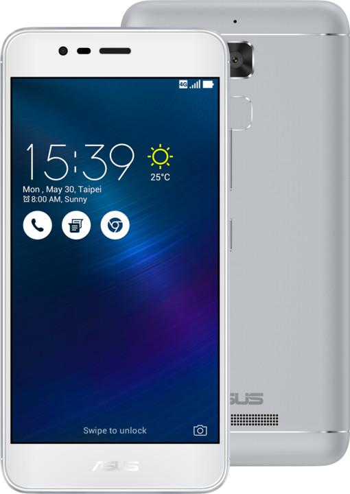 ASUS ZenFone 3 Max ZC520TL-4J078WW, štříbrná