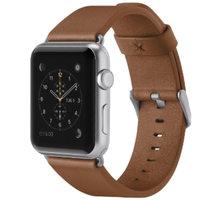 Belkin kožený řemínek pro Apple watch (38mm) - hnědá - F8W731btC01