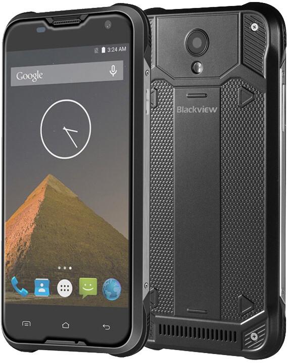 iGET BLACKVIEW BV5000, Dual SIM, černá