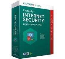 Kaspersky Internet Security multi-device 2016/2017 CZ, 4 zařízení, 1 rok, nová licence, box - KL1941OBDFS-6MCZ