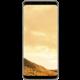 Samsung S8 poloprůhledný zadní kryt, zlatá