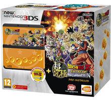 Nintendo New 3DS Black+Dragonball Z+SNES+Faceplate - NI3H97019