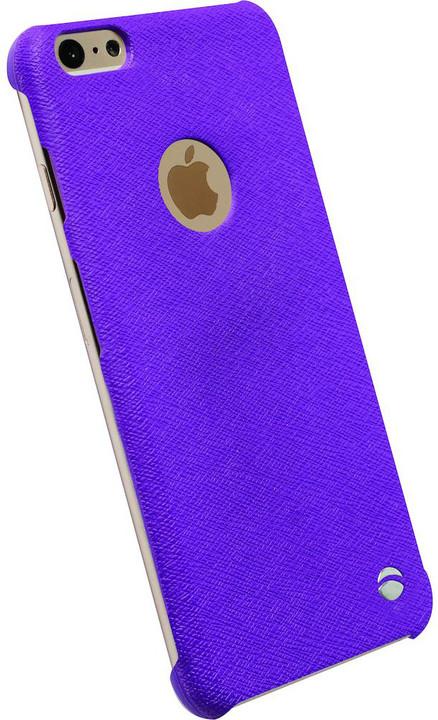Krusell zadní kryt MALMÖ TextureCover pro Apple iPhone 6 Plus, fialová