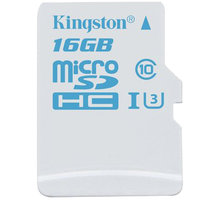 Kingston Action Card Micro SDHC 16GB Class 10 UHS-I U3 - SDCAC/16GBSP