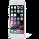 EPICO pružný plastový kryt pro iPhone 6/6S HOCO FLOWERS - transparentní bílo-růžová