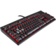 Corsair STRAFE RED LED + Cherry MX BROWN, EN