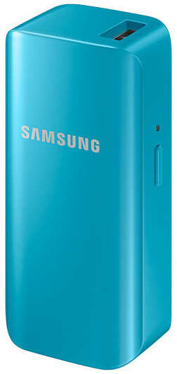 Samsung externí baterie 2100mAh, blue