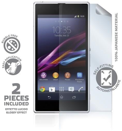 CELLY ochranná fólie displeje pro Sony Xperia Z1, lesklá, 2ks