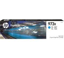 HP F6T81AE č.973X, azurová