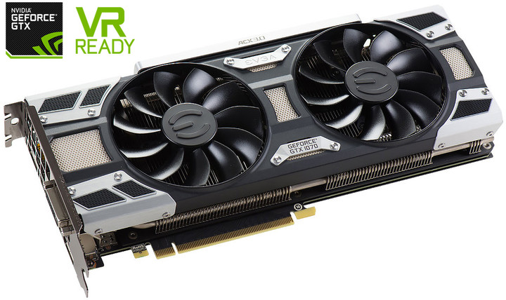 EVGA GeForce GTX 1070 Gaming ACX 3.0, 8GB GDDR5