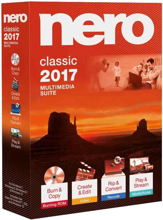 Nero 2017 Classic CZ