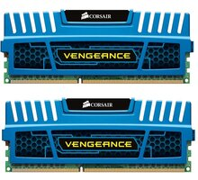 Corsair Vengeance Blue 4GB (2x2GB) DDR3 1600 CL 9 - CMZ4GX3M2A1600C9B