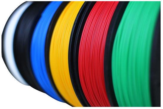 Delta Micro Factory tisková struna ABS plast, 500 g, černá