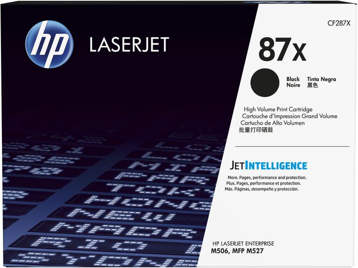 HP CF287X, černá č. 87X