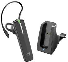 CellularLine headset Bluetooth Car Pro, BT v3.0, včetně držáku do auta - BTCARPRO
