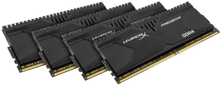 Kingston HyperX Predator 16GB (4x4GB) DDR4 2133