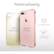 Spigen Crystal Shell pro iPhone 7+, rose crystal