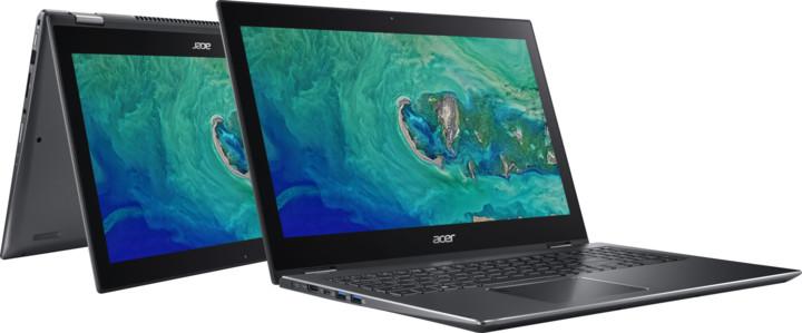 Acer Spin 5 celokovový (SP513-52N-874P), šedá